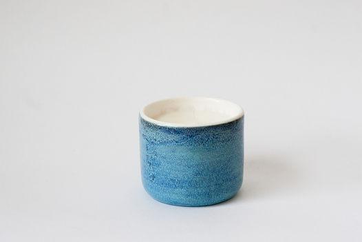 Свеча  в керамической чаше «Дождь»