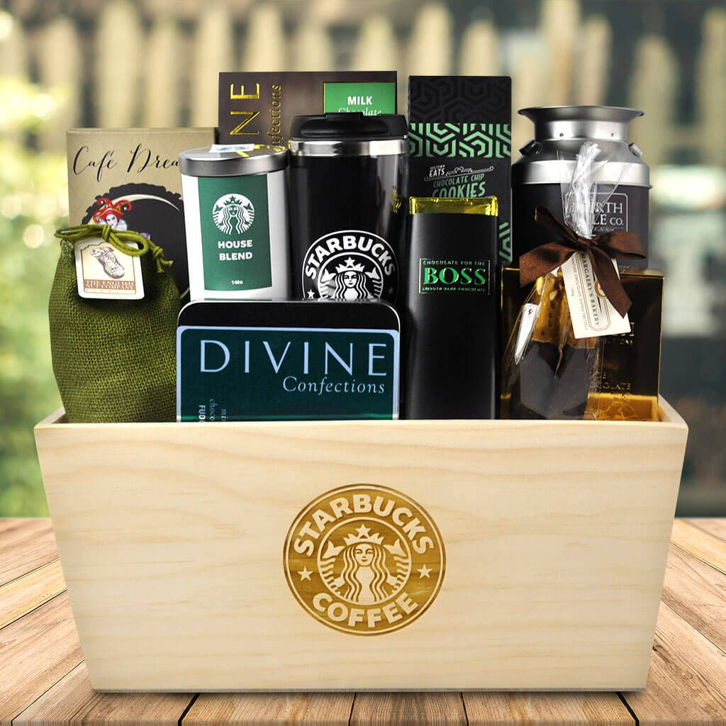 Los Angeles Gift Baskets Starbucks