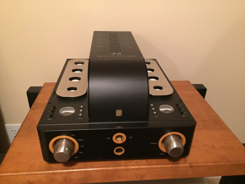 Unison Research S6 tube integrated amplifier Mint customer trade-in