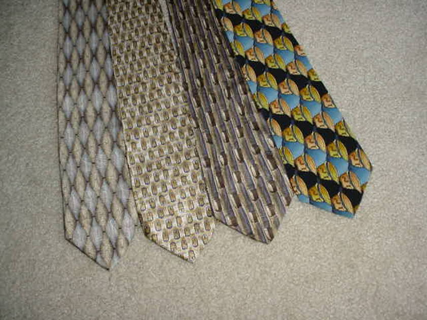 GRATEFUL DEAD JERRY GARCIA NECK TIE LOT OF 16