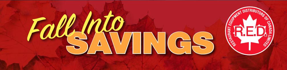 R.E.D. Fall Savings