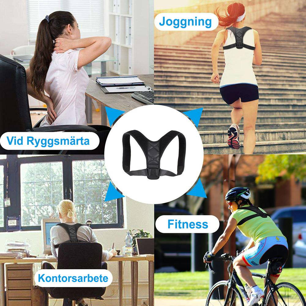 Ryggstöd posture corrector fitness