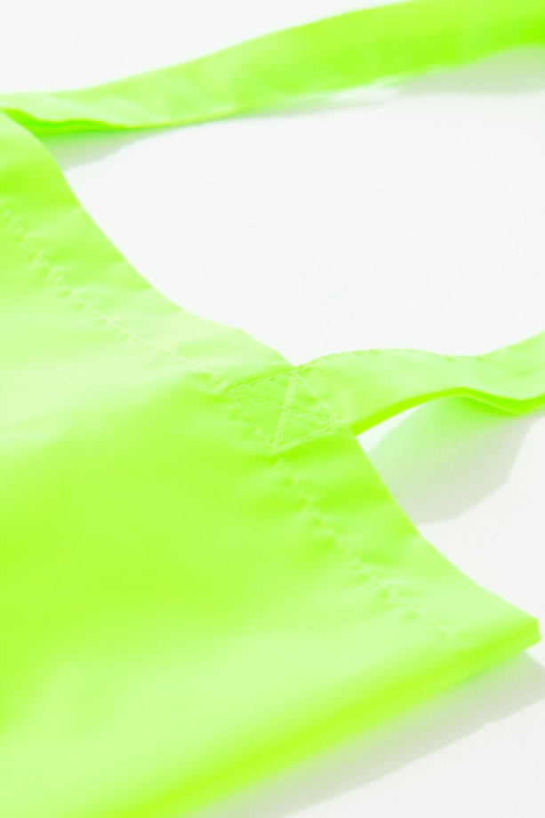Сумка шоппер в кислотном цвете FOS clothes