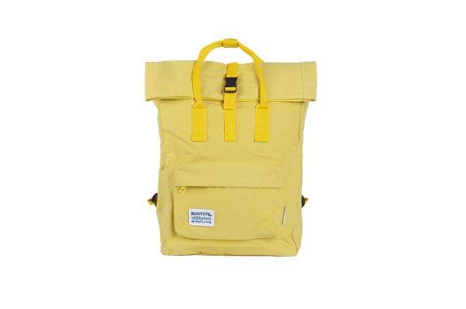 Желтый рюкзак роллтоп