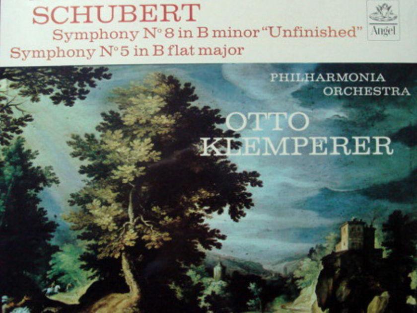 ★Sealed★ EMI Angel / KLEMPERER,  - Schubert Symphonies No.5 & No.8 Unfinished!