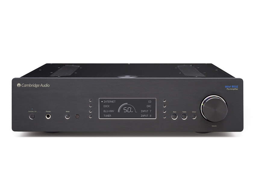 Cambridge Audio 851E Reference Balanced Stereo Preamplifier, New with Full Warranty and Free Shipping