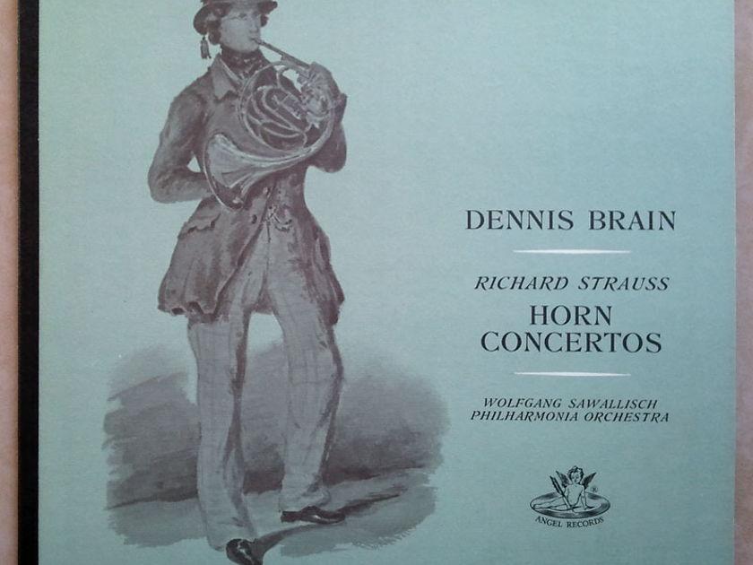 ANGEL BLUE   DENNIS BRAIN/STRAUSS - Horn Concertos Nos. 1 & 2 / NM