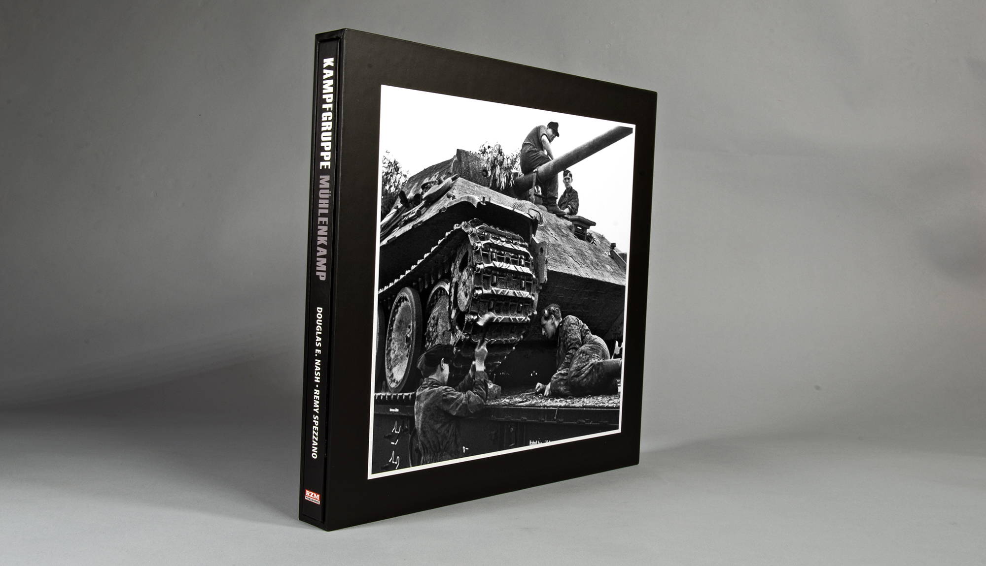 """""""KAMPFGRUPPE MÜHLENKAMP Signed and Numbered Edition with slipcase."""""""