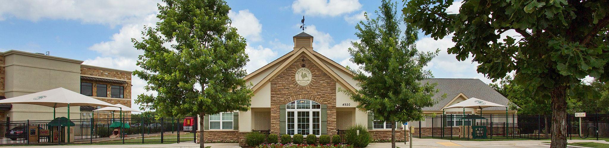 Exterior of a Primrose School of Southwest Austin