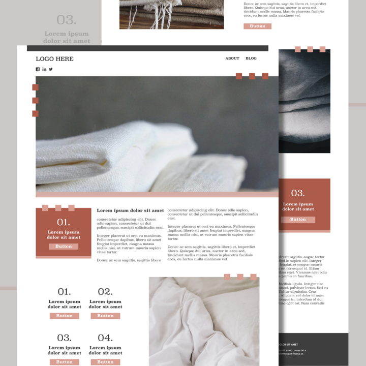 Linen template's featured image