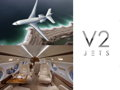 A $5,000 Gift Card from V2 Jets towards a Private Charter with 5 Hours of Flight Time