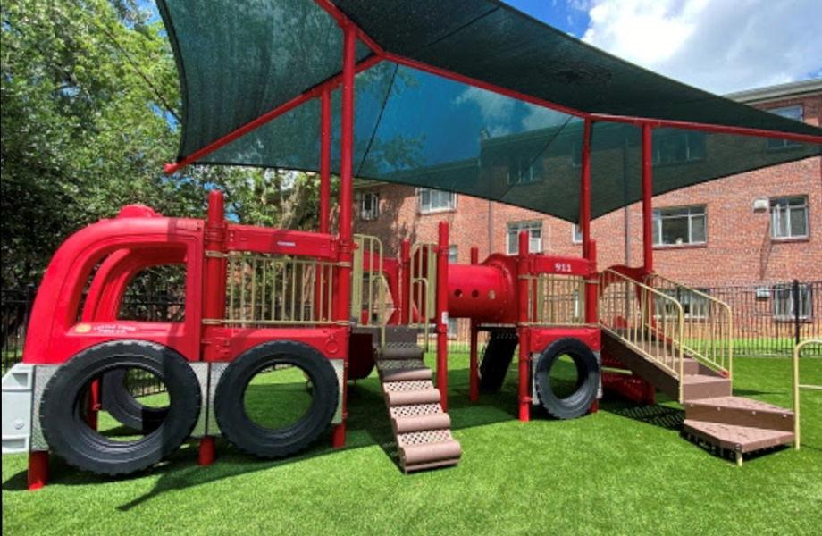 Playground Fire Truck