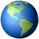 Earth globe americas 1f30e