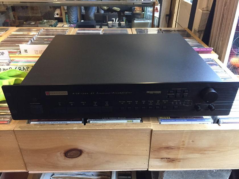 Parasound PSP-1000 Pre-Amp