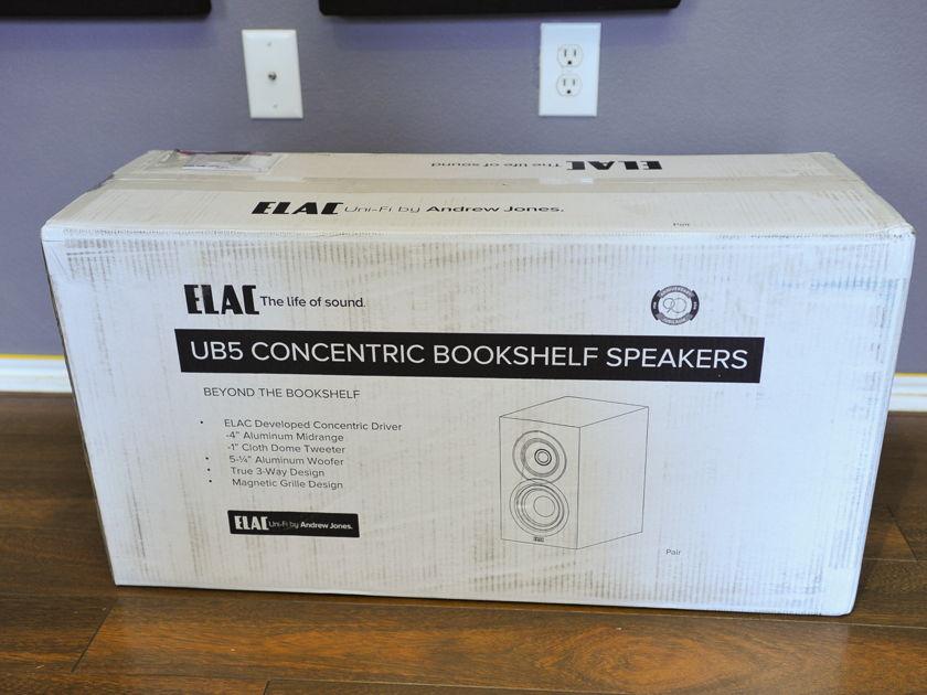 ELAC UB5 Bookshelf Speakers - NEW
