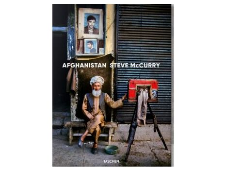 Signed Copy of Steve McCurry's book Afghanistan
