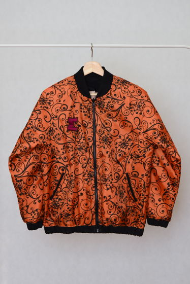 """Куртка-бомбер """"RED""""с рукавом реглан"""
