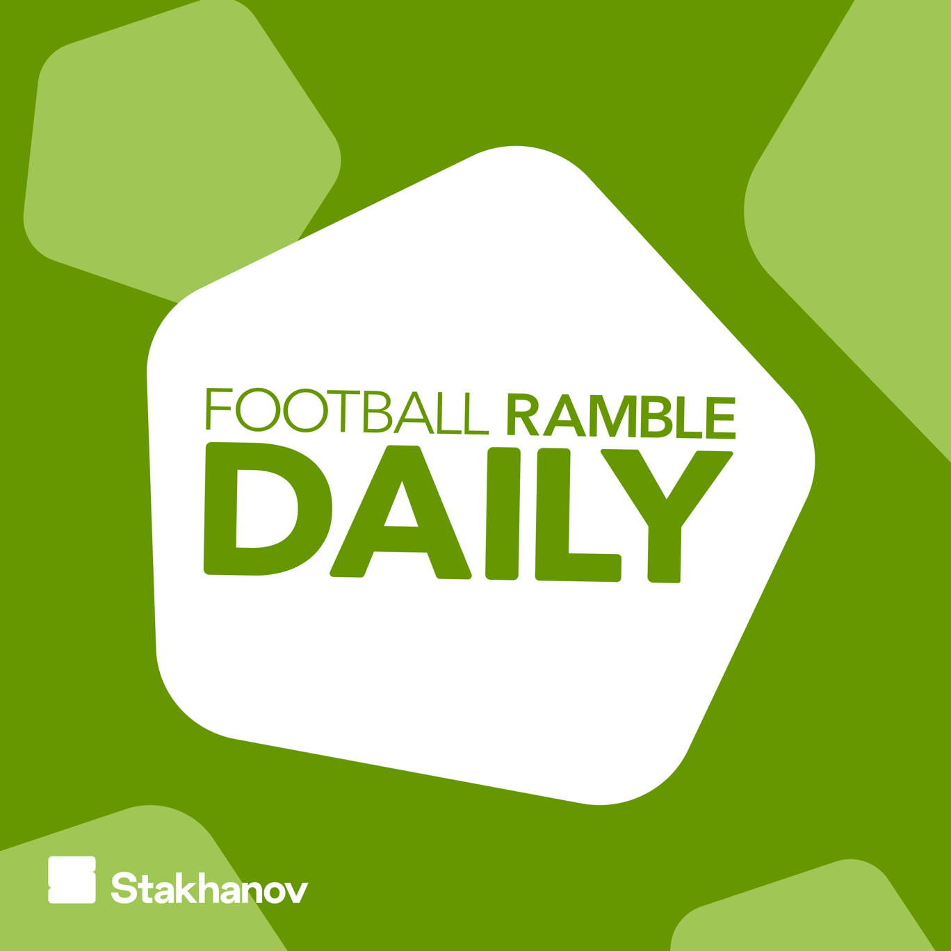The artwork for the Football Ramble Daily podcast.