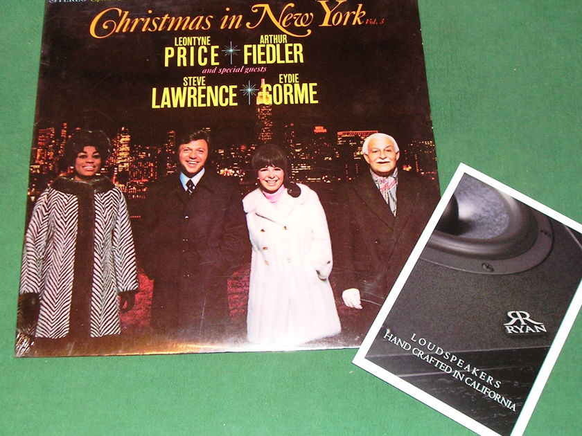 CHRISTMAS IN NEW YORK Vol 3 - * 1969 RCA SPECIAL COLLECTOR'S EDITION * NEW/SEALED