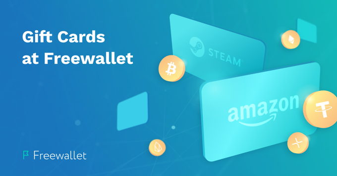 Turn digital money into real goods at Freewallet on the fly