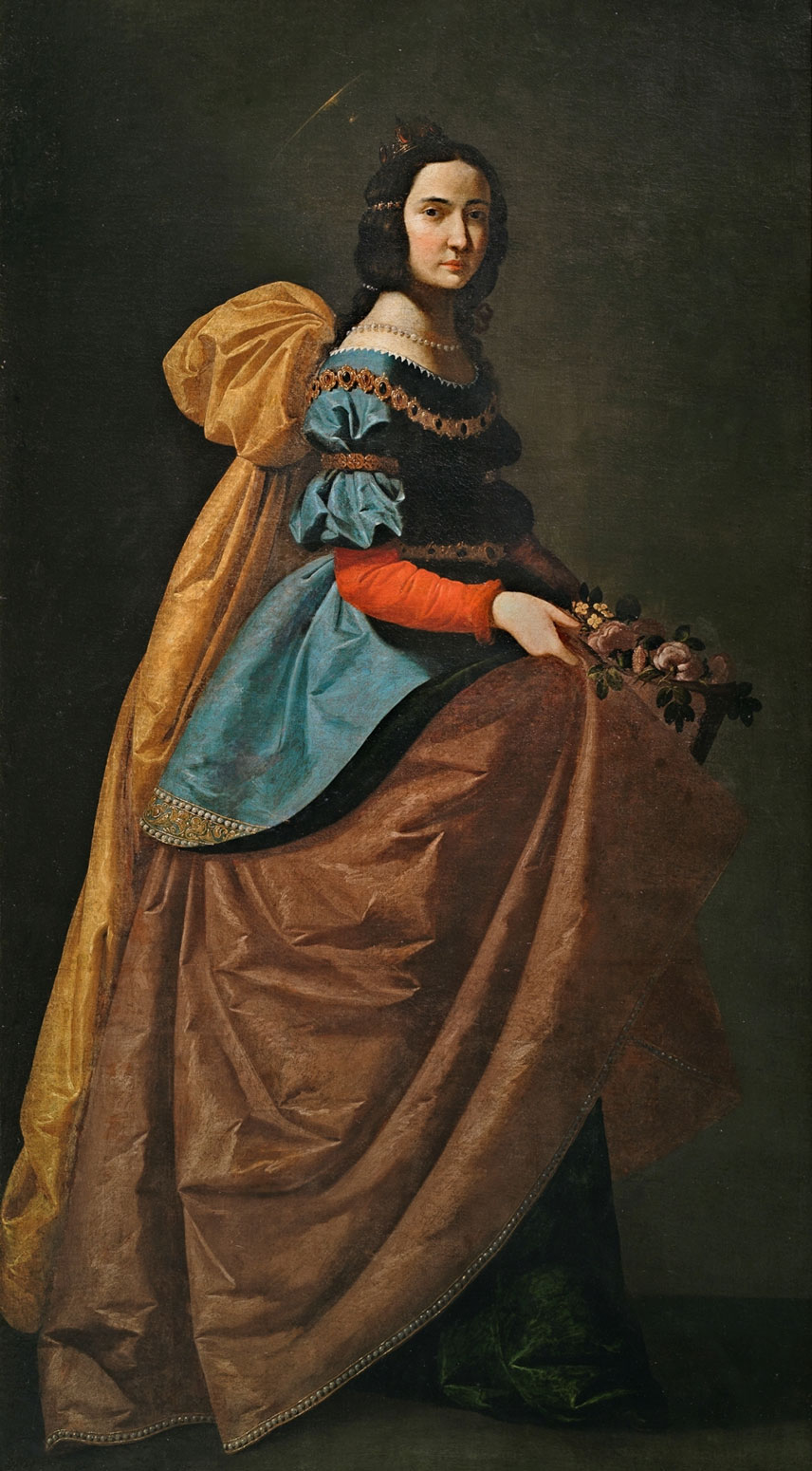 Zurbarán, Saint Isabel of Portugal