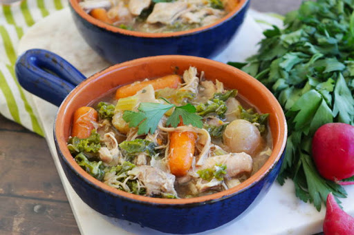 Instant Pot keto recipes: Chicken soup
