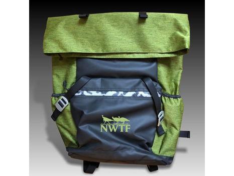 Green Backpack w/ Green NWTF logo