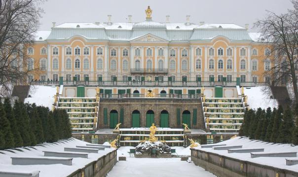 Экскурсия в Петергоф с посещением Большого дворца (НГ каникулы)