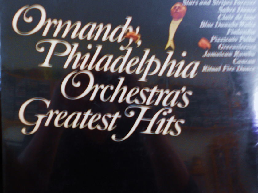 FACTORY SEALED ~ EUGENE ORMANDY ~  - PHILADELPHIA ORCHESTRAS GREATEST HITS ~  COLUMBIA ML 6334 (1967)