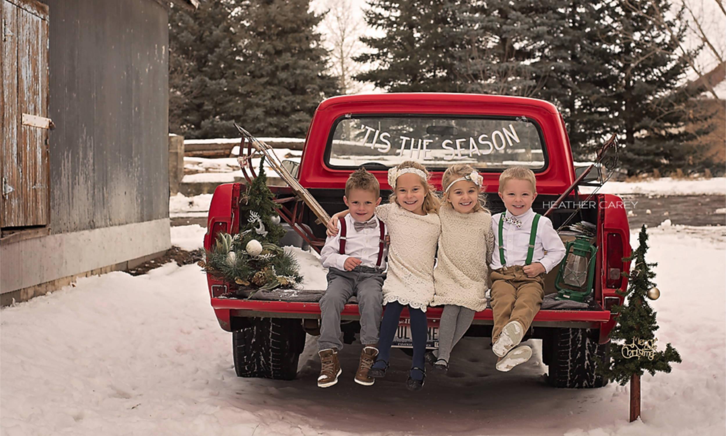 Christmas Bow Ties for Kids