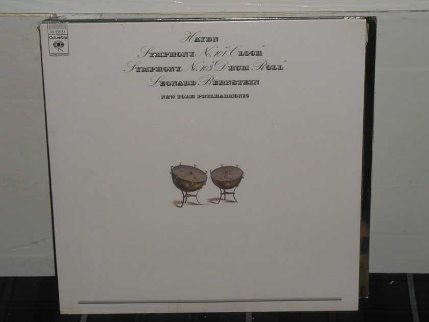 Bernstein/NYPO - Haydn101/103 Columbia SEALED LP(thick)