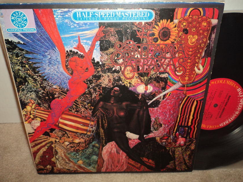 Santana (Half-Speed Mastered) - Abraxas Rare LP  Columbia LP