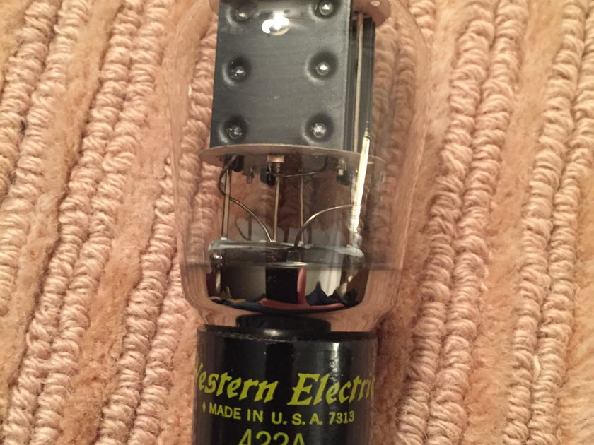 Western Electric 422A The Ultimate Rectifier Tube/ Reduced