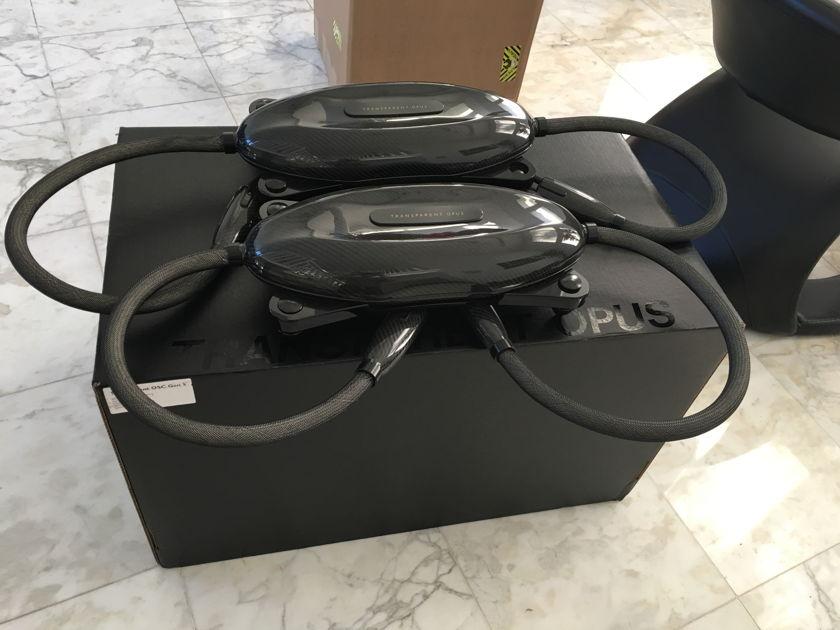 Transparent Audio   Opus Gen 5 (3 set of Cables) 1 XRL 2 Meter + 1 XRL 1 Meter + 1 Speaker 8 feet-all 3 Gen5