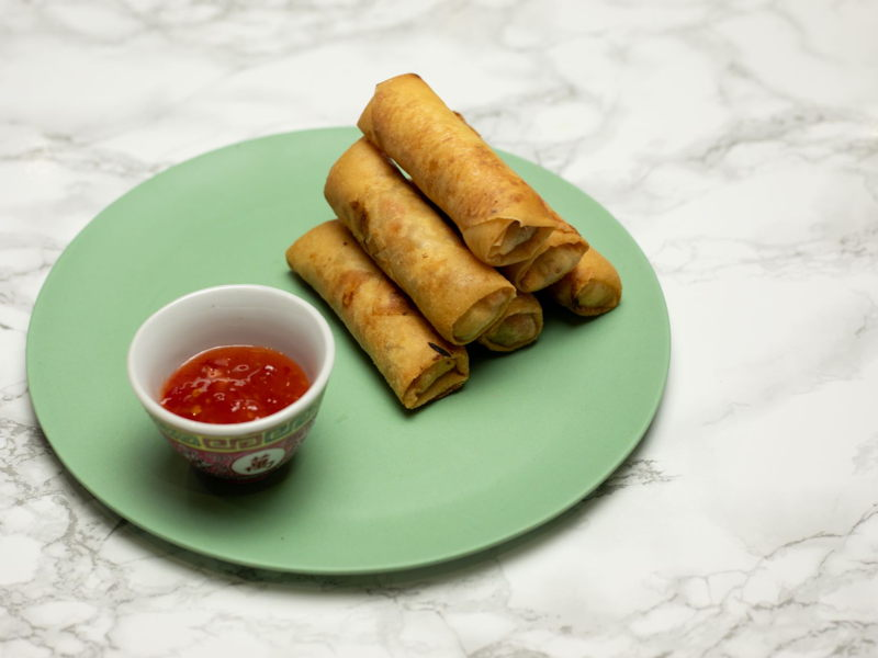 Pork Spring Rolls Recipe School Of Wok
