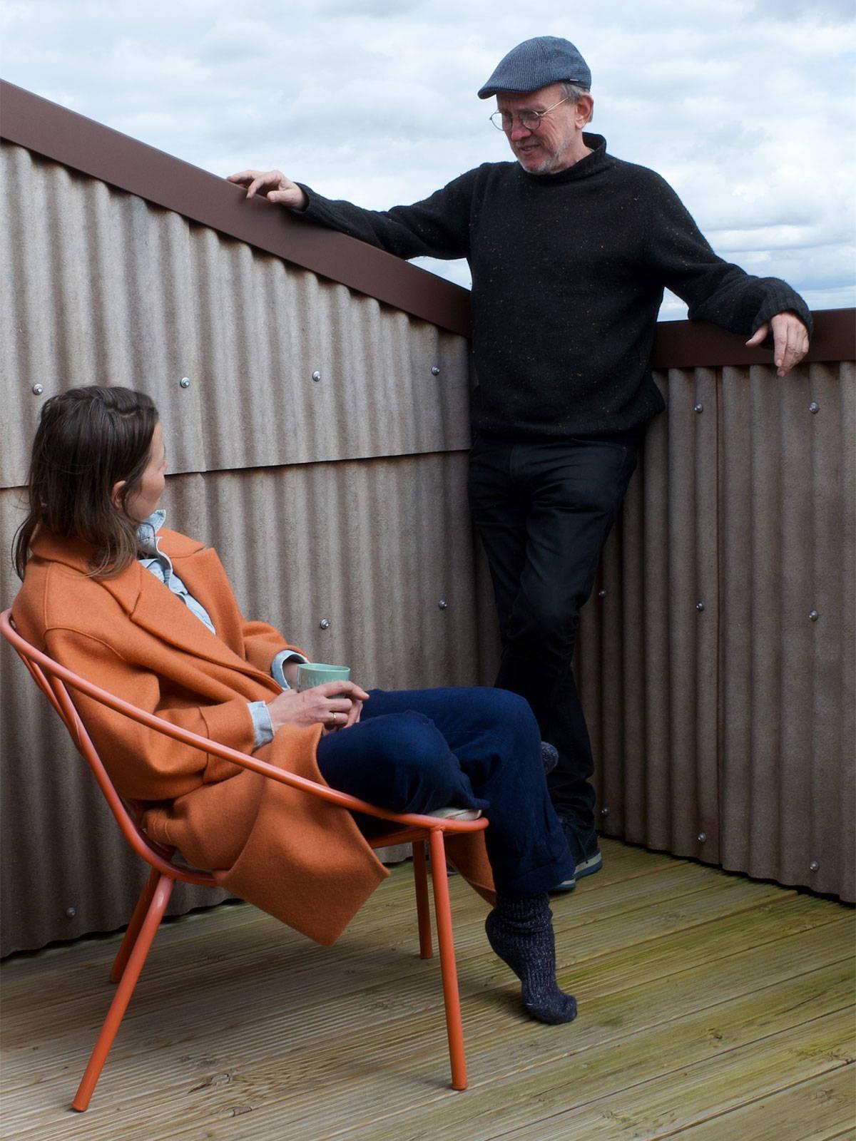 Fawnda Denham and Steve Barron