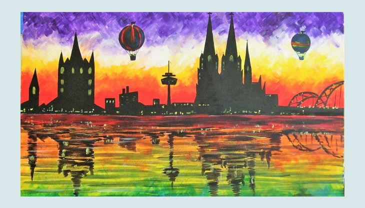 painting partys panorama