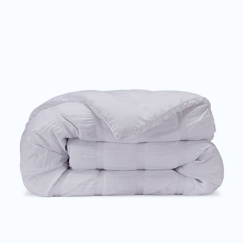 sleep zone bedding website store products collection modern luxe seersucker comforter white wave