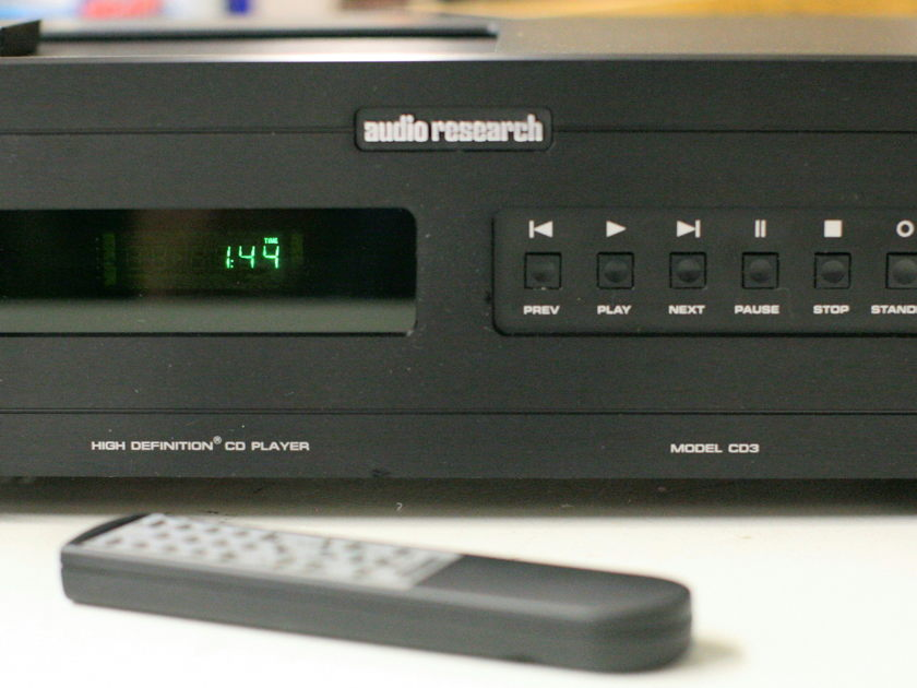 Audio Research CD3MKII Black CD player