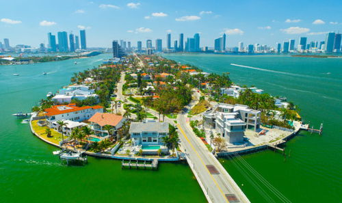 skyview of Venetian Islands