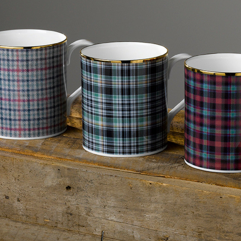 Country Couture fine bone china mugs