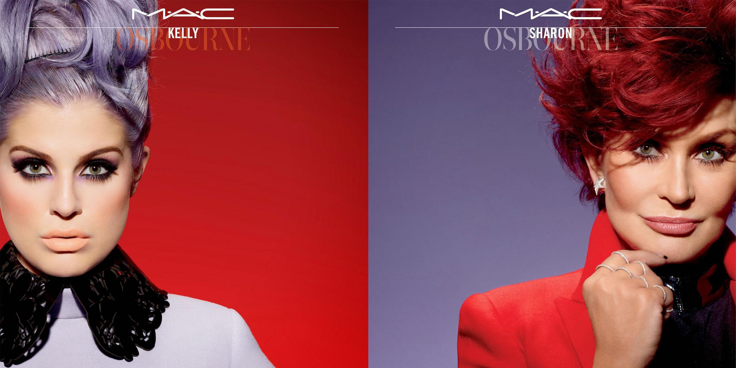 MAC x Sharon Kelly Osbourne Summer 2014 Makeup Collections