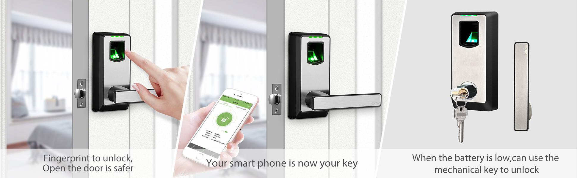 unlock your door easily with this smart lock