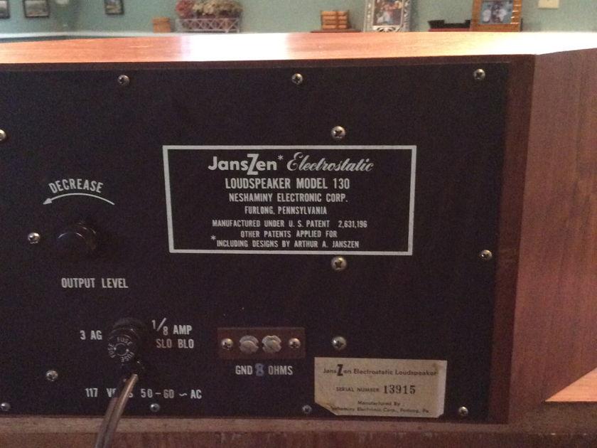 Acoustic Research & Janszen 1W & 130
