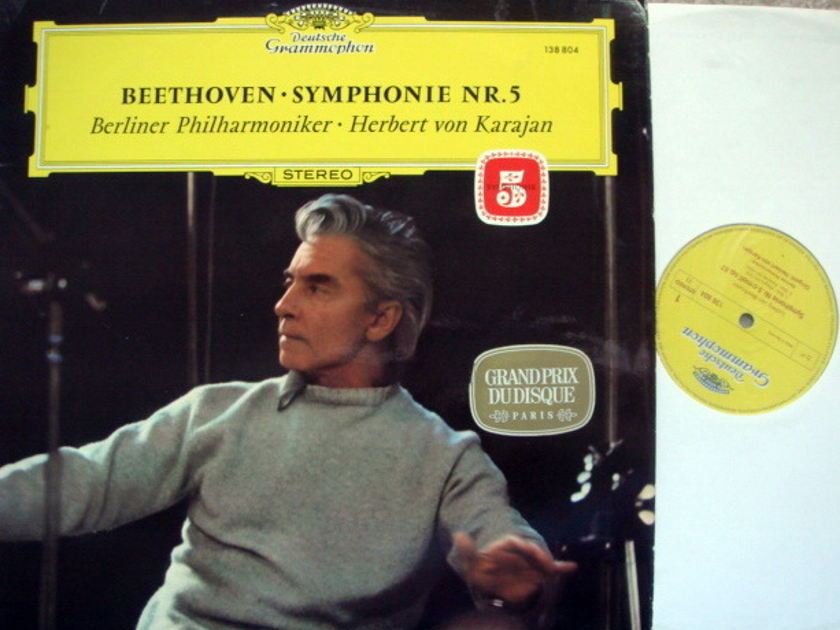 DG / KARAJAN-BPO, - Beethoven Symphony No.5 MINT!