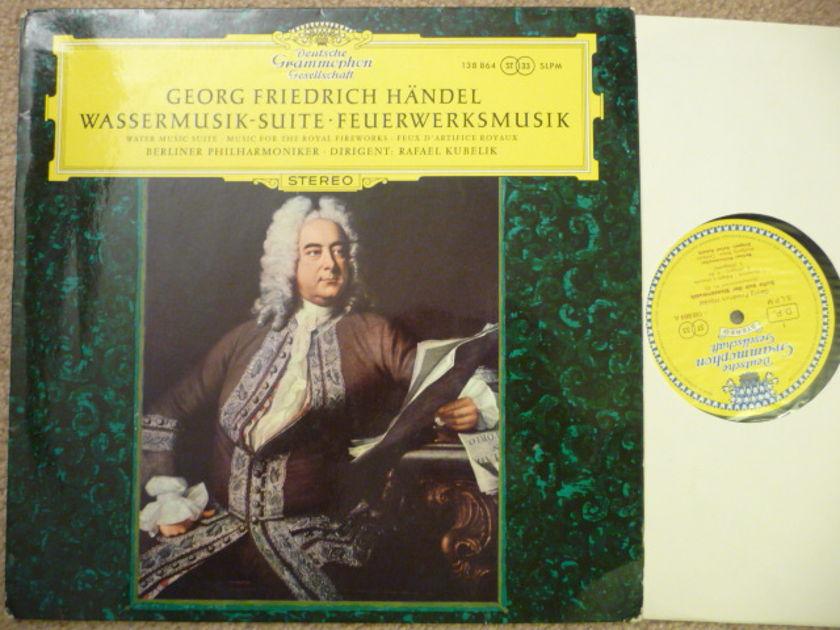 Handel  - Water Music DGG LP EXCEL