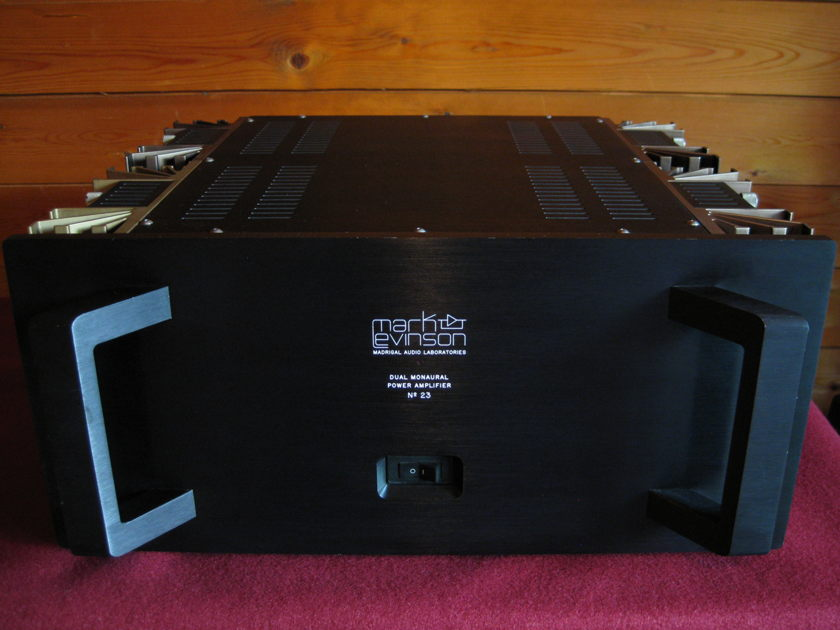 Mark Levinson  No. 23 Power Amplifier  – Rarely Used