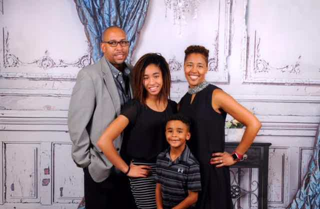 Franchise Owners of Primrose School Sheldon & Dr. Shelley Connell with their family