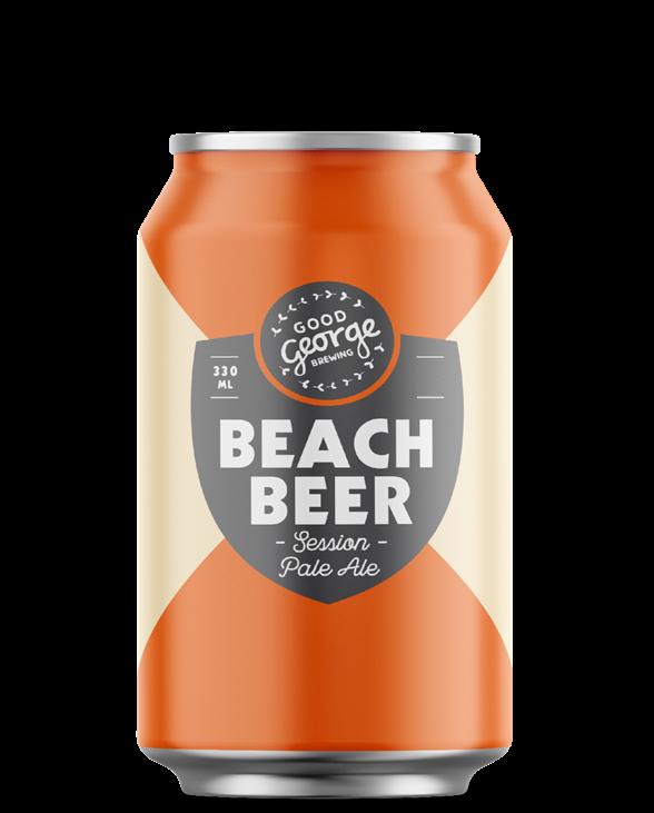 Good George Beach Beer Can