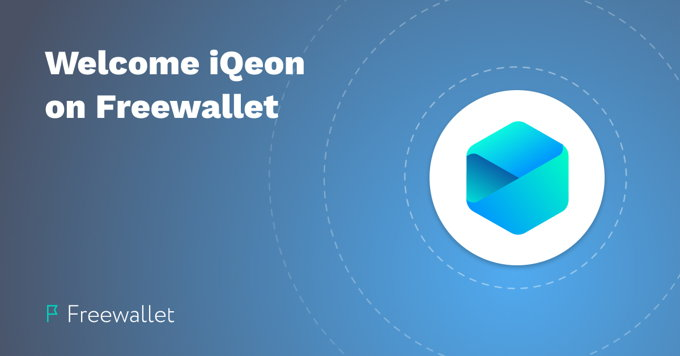 iQeon Joins Freewallet: Crypto Wallet